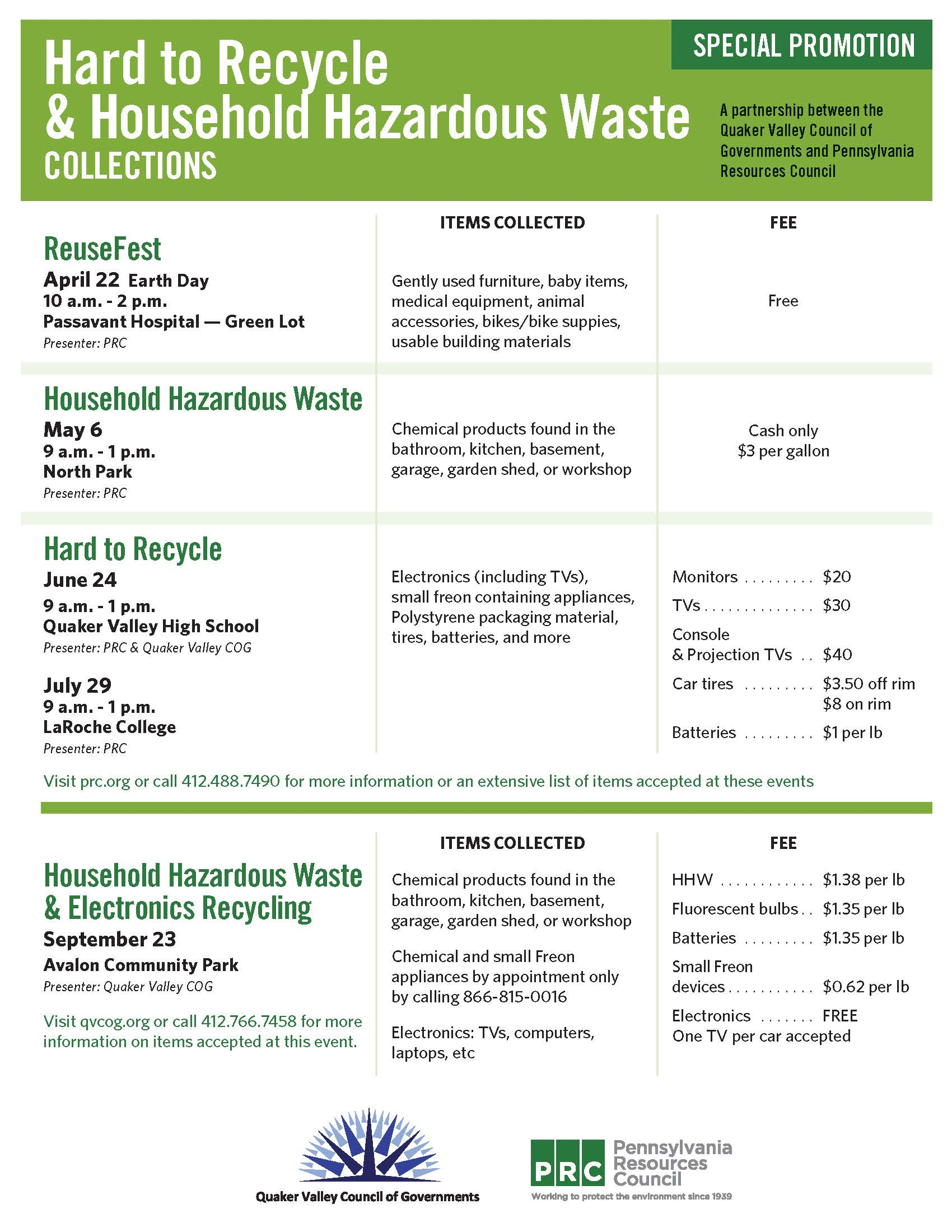 Cog Hard to Recycle and Household Waste Collection - 03-16-17
