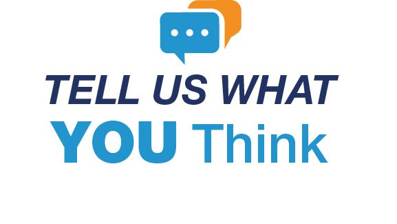 Tell Us What You Think - survey for PennDot on 3 initiatives