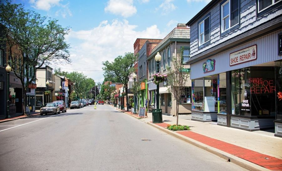 Sewickley Borough Main Street