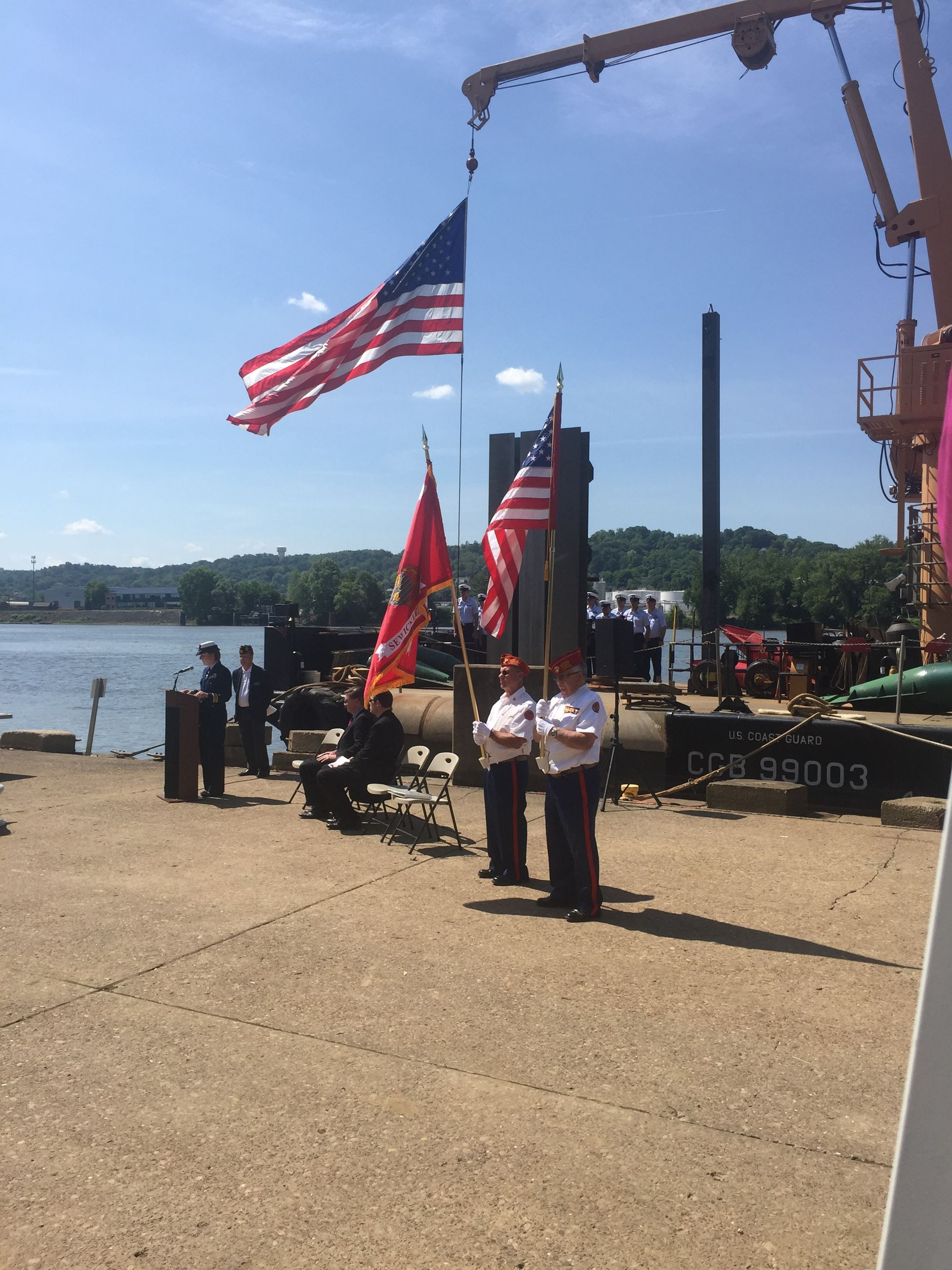 Coast Guard Ceremony 3